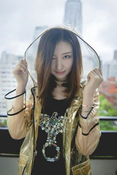 See through plastic Rain Wear, See Through, Fashion Wear, Jackets, How To Wear, Plastic, Style, Down Jackets, Jacket