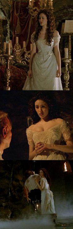 Phantom of The Opera Christine's Wedding Gown Veil Screen Worn Emmy Rossum '04 | eBay
