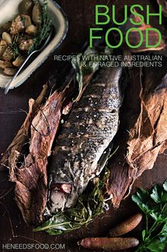 A collection of recipes featuring native Australian and foraged ingredients by heneedsfood.com