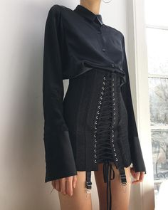 some structure 💣 black Gamine has arrived! styled with our Silk Set. Look Fashion, High Fashion, Fashion Outfits, Womens Fashion, Fashion Design, Fashion Ideas, Travel Outfits, Fashion Beauty, Winter Fashion