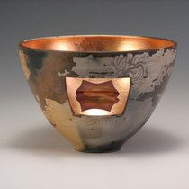 Window Bowl by Karin Abromaitis. American Made. See the designer's work at the 2016 American Made Show, Washington DC. January 15-17, 2016. americanmadeshow.com #americanmade, #americanmadeshow, #ceramic, #pottery, #bowl