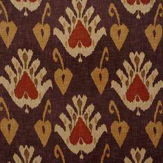 SOKOTO - RUST Multipurpose Fabric Andrew Martin for Lee Jofa