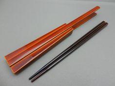 vintage japanese lacquer ware chopsticks shunkei nuri sensu