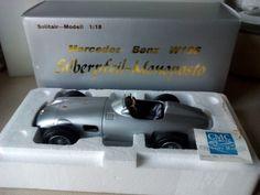 CMC Mercedes-Benz W196 Silberpfeil Monoposto 1:18 in OVP