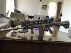 """13 hours the secret soldiers of benghazi"" Film - HK 417 DMR Sniper + NVG-Thermal vision"