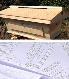 Top Bar Hives Hive Plans Top Bar Hive Pinterest