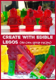 Edible LEGOs Create with Legos