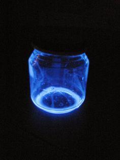 Enfermer la lumière en bocal