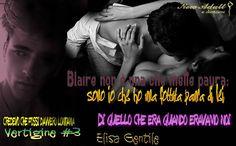 """NEW ADULT E DINTORNI: RECENSIONE: CREDEVO CHE FOSSI DAVVERO LONTANA """"Vertigine Serie #3"""" di ELISA GENTILE"""