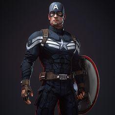 Marvel Now, Marvel Heroes, Captain America Movie, Winter Soldier, Game Concept, Hawkeye, Superhero, Marvel Universe, Video Game