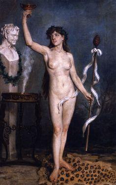 Joaquin Sorolla Y Bastida Painting - Bacchante Manet, Renoir, Madrid, Getty Museum, Spanish Painters, Portraits, European Paintings, Pre Raphaelite, Singer Sargent