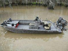 Gator-tail boats