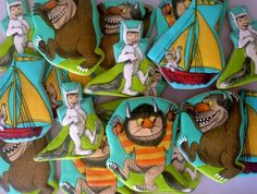 Amazing Where the Wild Things Are cookies!