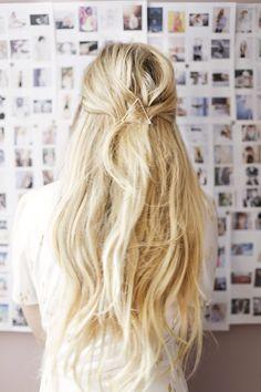kassinka simple hair tutorial