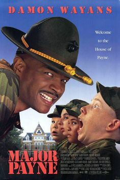 Major Payne posters for sale online. Buy Major Payne movie posters from Movie Poster Shop. We're your movie poster source for new releases and vintage movie posters. Funny Movies, Comedy Movies, Great Movies, 1990s Movies, Movies And Series, Movies And Tv Shows, Love Movie, Movie Tv, Gi Joe