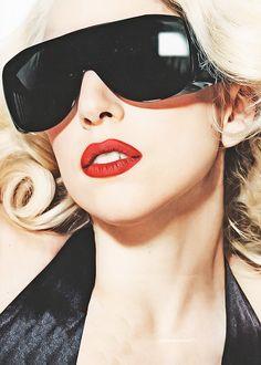 Lady Gaga #sunglasses