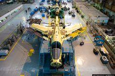 Fabricación del caza bombardero Ruso Su-34