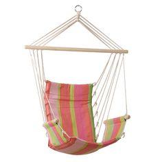 Palua Hammock Chair, $54.95, padded seat, wooden arm rests, super comfort! #hammockchairs