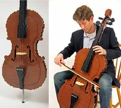 Lego Cello. Not really funny, more just cool :)
