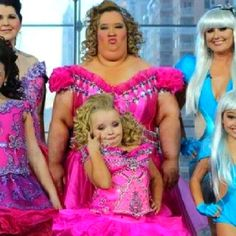 "Here Comes Honey Boo Boo, child!  I should probably make a ""Things that scare me"" Board."