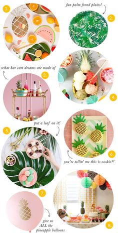 Party Trends: Pineapples & Palms