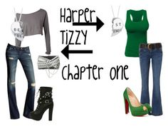 """""""Harper and Tizzy chapter one"""" by iris-rainbowwolf ❤ liked on Polyvore featuring art"""