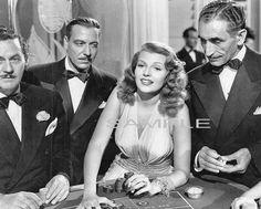 RITA HAYWORTH at Roulette Table in Gilda MOVIE PHOTO