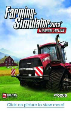 Farming Simulator - Xbox 360 Welcome to the greatest farming simulation ever made! Farming Simulator invites you into the demanding world of a modern day farmer Xbox 360 Video Games, Latest Video Games, Xbox Games, Playstation, Farming Simulator, Mac Games, Video Game Reviews, Game Codes, Thing 1