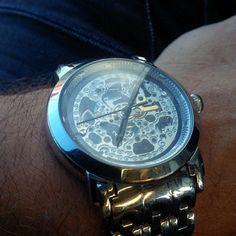 Have been wearing this Stuhrling skeleton automatic a lot lately .... #watch #timepiece #wristporn #watchgramm #wristshot #wristswag #wristgame #watchfam #wristwatch #watchesofinstagram #dailywatch #watches #watchgeek #watchnerd #instagood #igers #instalike #picoftheday #follow #me #fashion #swag #personal #photooftheday #style #love #time #instadaily #TagsForLikes #TFLers @TagsForLikes