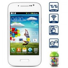 This phone will only work with GSM+WCDMA network Network type: GSM Frequency: GSM 850/900/1800/1900MHz Unlocked for Worldwide use, please check if your local area network is compatible with this phone  Highlights: Type: Touch screen phone  Color: Black OS: Android 4.1 CPU: SMDK4x12 1GHz ...Click on Picture to go to Store