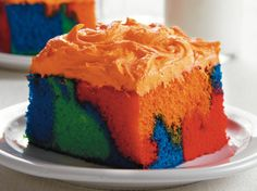 Psychedelic Cake - Saving this for November :)