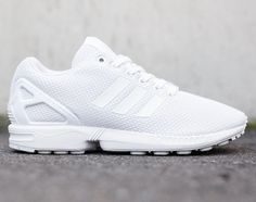 "Adidas Originals ZX Flux ""All White"