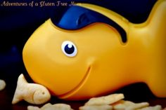 Gluten-Free Goldfish Recipe and some brilliant gluten-free writing from Heidi at Adventures of a Gluten-Free Mom