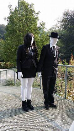 Slender Man & Slender Woman Elfia Arcen 2014  - https://www.facebook.com/photo.php?fbid=10202763098534912&set=a.10202763045973598.1073741833.1123477119&type=1&theater