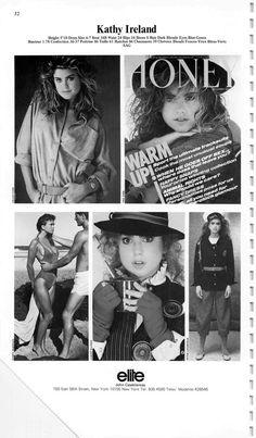 The Model Archives of Marlowe Press  Elite (New York)1984