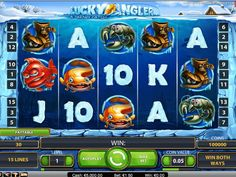 The Lucky Angler slot is a five reel, fifteen pay-line game from NetEnt with an undersea life theme. Einarmiger Bandit, Games To Play Now, Line Game, Online Casino Slots, Cartoon Fish, Fallout New Vegas, Win Money, Movie Themes, Fishing