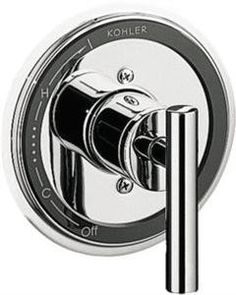 Buy the Kohler Brushed Nickel Direct. Shop for the Kohler Brushed Nickel Taboret Single Handle Pressure Balanced Valve Trim and save. Buy Tools, Bathtub Shower, Lowes Home Improvements, Online Shopping Stores, Brushed Nickel, Polished Chrome, Door Handles, Modern Faucets, Bathroom Modern