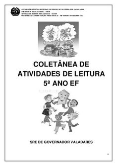 COLETÂNEA DE ATIVIDADES DO 5º ANO Kids And Parenting, Education, Regional, Lp, Rose, Coding, Comprehension Activities, Writing Activities, Creative Activities