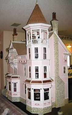 Dollhouse Design, Dollhouse Kits, Dollhouse Dolls, Dollhouse Miniatures, Victorian Dolls, Victorian Dollhouse, Miniature Houses, Miniature Dolls, Doll Furniture