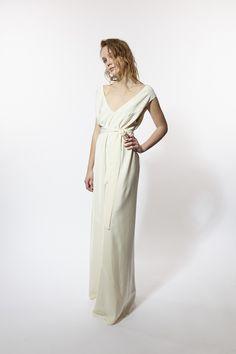 Miss Crabb Berlin Dress Cream