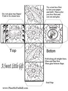 Christmas Ornament Coloring Pages | Christmas Box Coloring and ...