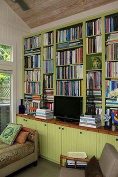Louis Aubert designed bookcase