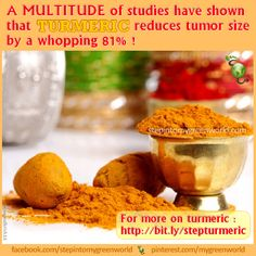 """Do YOU """"like"""" Turmeric? ❥➥❥ Isn't this a compelling reason to enjoy Turmeric?  How do YOU use Turmeric?  ♥Like✔""""Share""""✔Tag♥Comment✔Repost✔God Bless♥   ℒℴѵℯ / Thanks / Visit ➸ Step In2 My Green World http://www.stepintomygreenworld.com/healthyliving/greenfoods/turmeric-the-superstar-spice/  #GodsGardenOfEden #turmeric #health ♡ ♥ ♡ pinned with Pinvolve - pinvolve.co"""