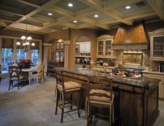 Country French House Plan Kitchen Photo 01 - Plan 026D-1405 | House Plans and More