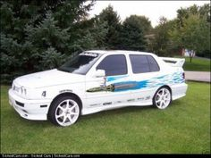 1995 Jetta Fast and the Furious Stunt Car  - http://sickestcars.com/2013/05/31/1995-jetta-fast-and-the-furious-stunt-car/