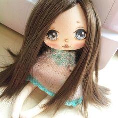 Будет брюнеточка;) #куколка #куклакупить #artdoll #doll #кукла #олли #куклаолли