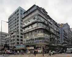 PHOTOGRAPHY - Michael Wolf's Hong Kong Cornerhouses - Hong Wrong Concept Models Architecture, Hong Kong Architecture, Modern Architecture, Hong Kong Building, Paul Theroux, Broken City, Michael Wolf, Modern Buildings, Old Buildings