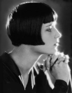 Louise  Brooks = beautiful and scandalous.  Pandora's Box is one of my favorite all time films.
