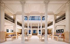 Apple's Opéra Store, France.  Beautiful merge of old (architecture) and new (Apple).