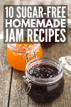 Canning 30 Easy Homemade Jam Recipes You Have to Try 10 hausgemachte Marmeladenrezepte oh Freezer Jam Recipes, Jelly Recipes, Canning Recipes, Canning 101, Drink Recipes, Kitchen Recipes, New Recipes, Recipies, Sugar Free Jam